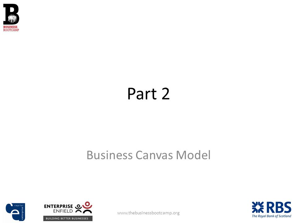Part 2 Business Canvas Model