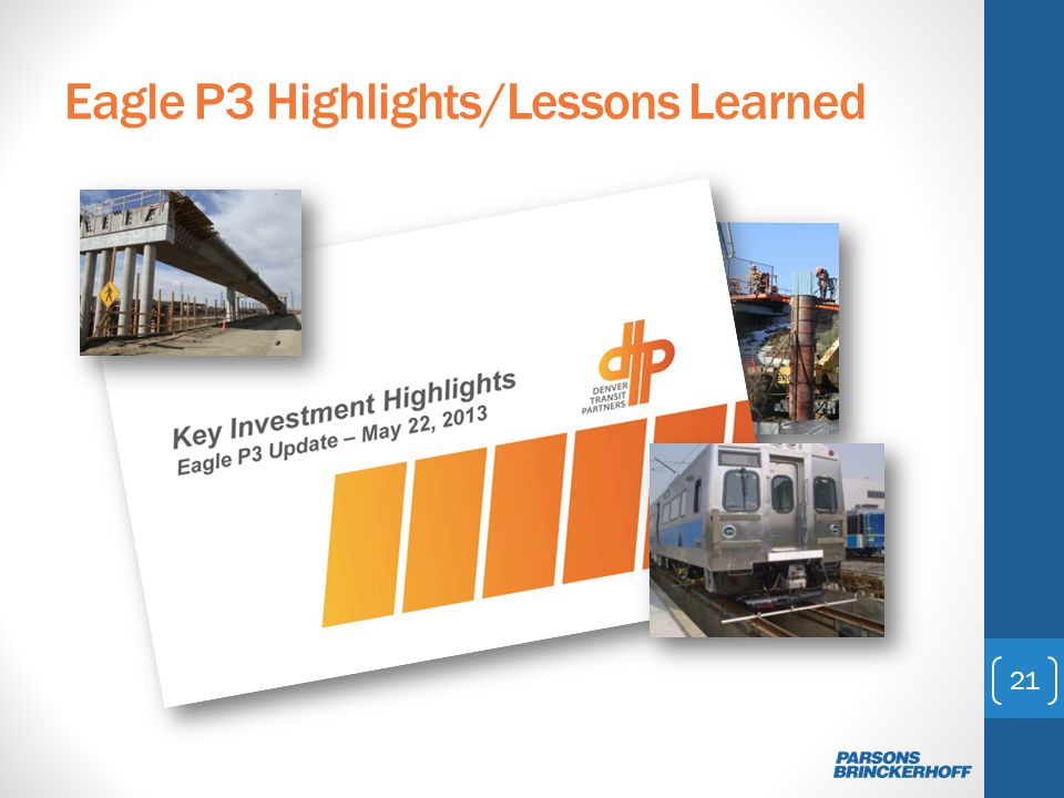 Eagle P3 Highlights/Lessons Learned 21