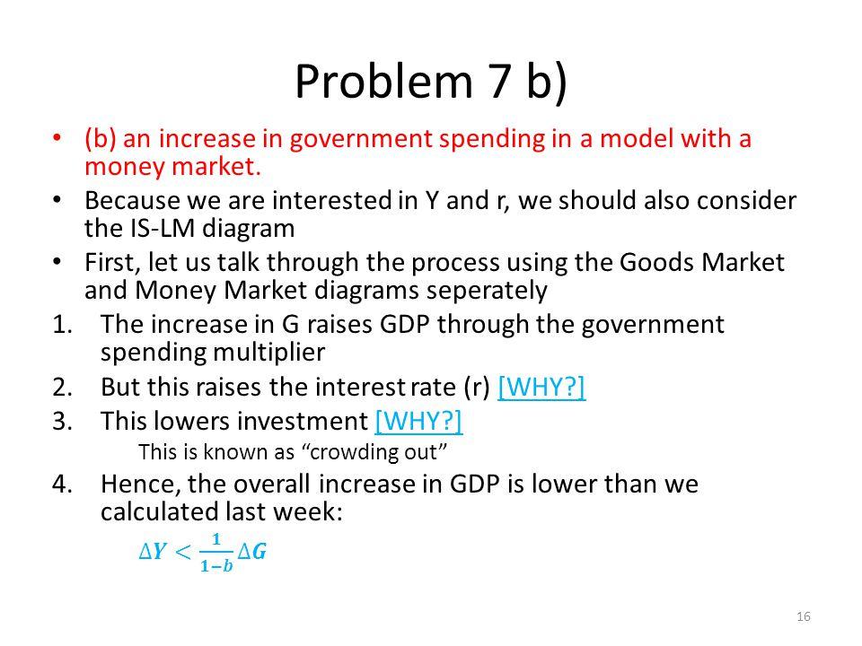 Problem 7 b) 16