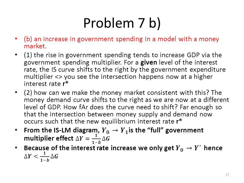 Problem 7 b) 17