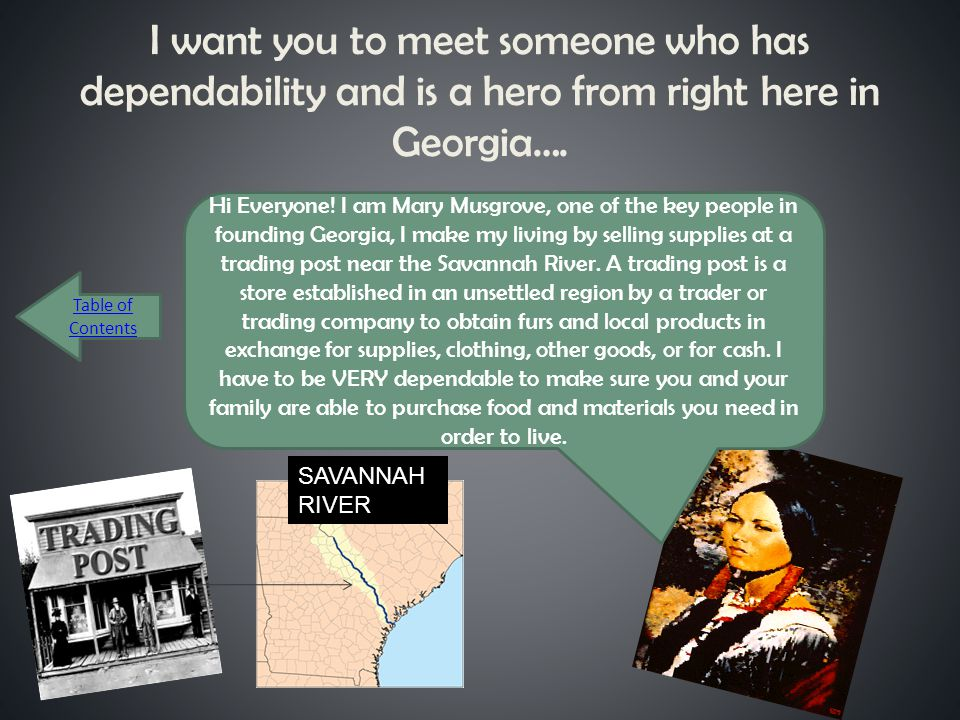 I want you to meet someone who has dependability and is a hero from right here in Georgia….