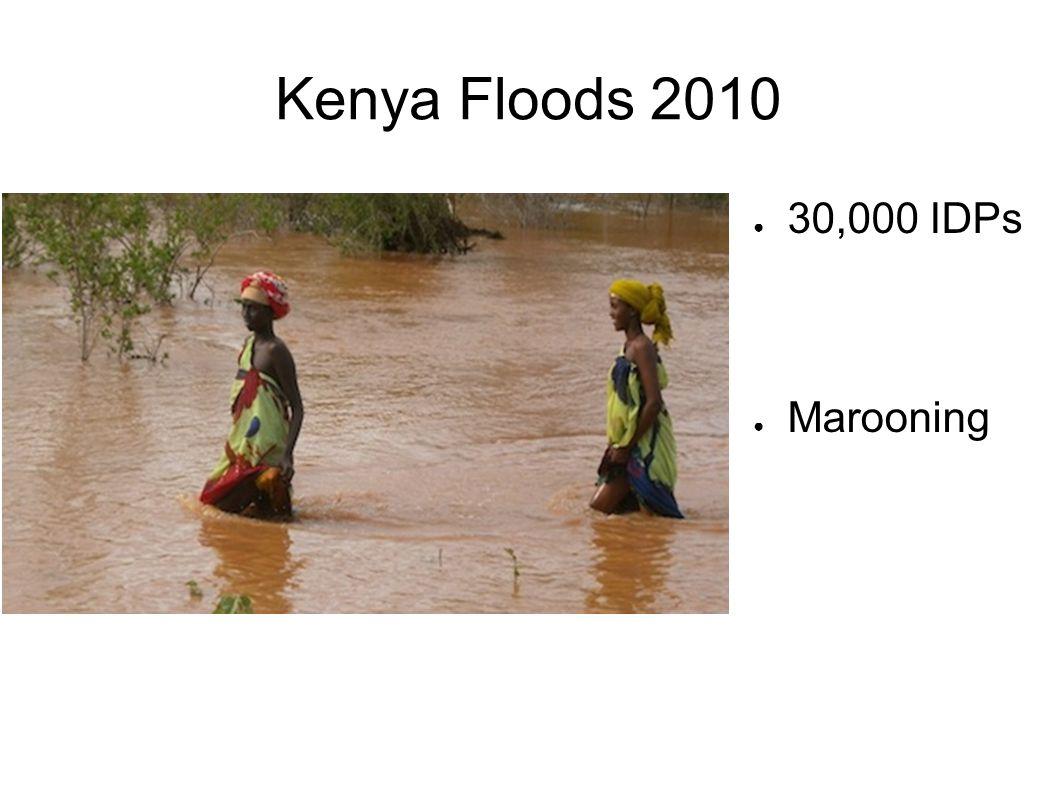 Kenya Floods 2010 30,000 IDPs Marooning