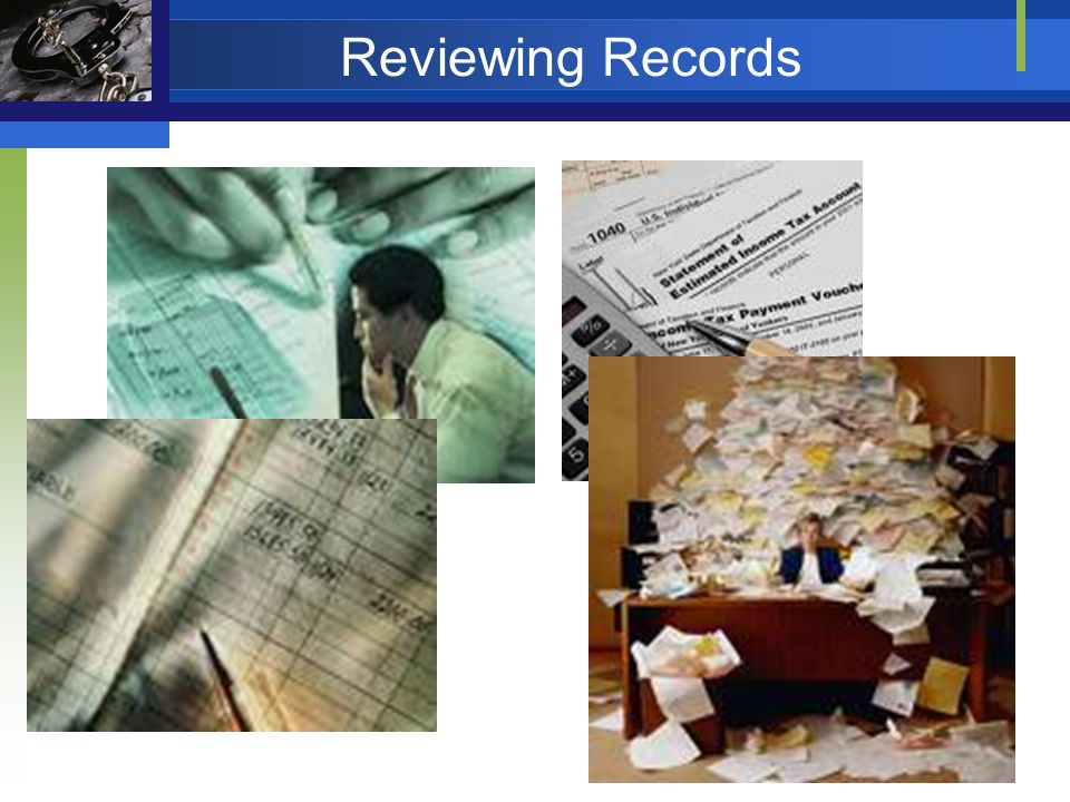 Reviewing Records