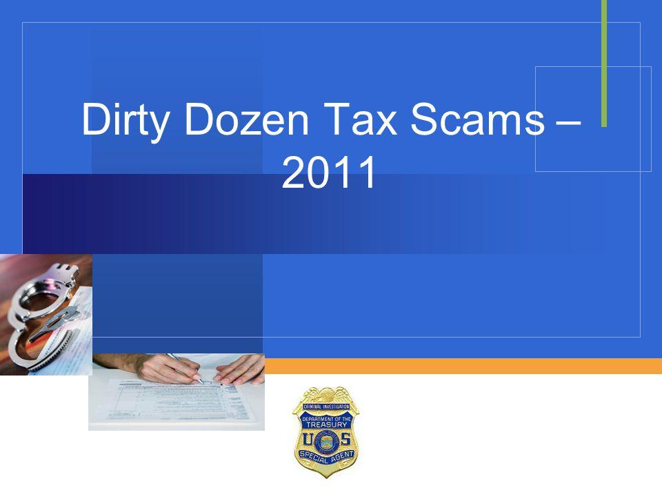Dirty Dozen Tax Scams – 2011