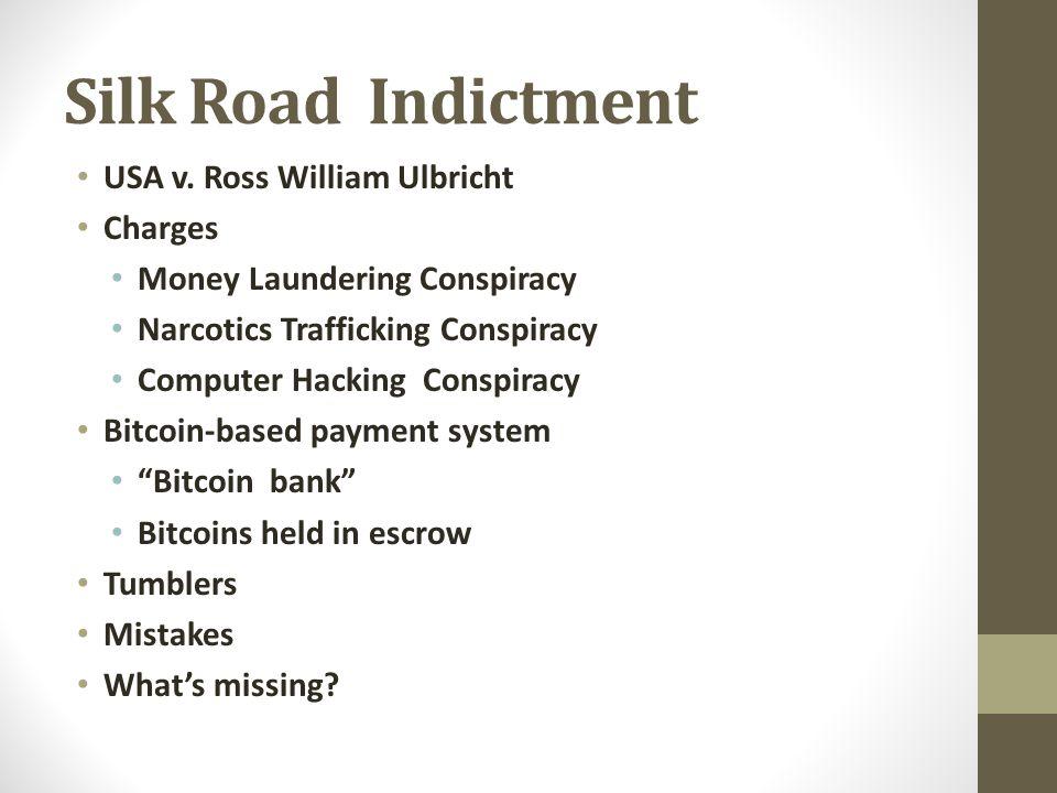 Silk Road Indictment USA v.