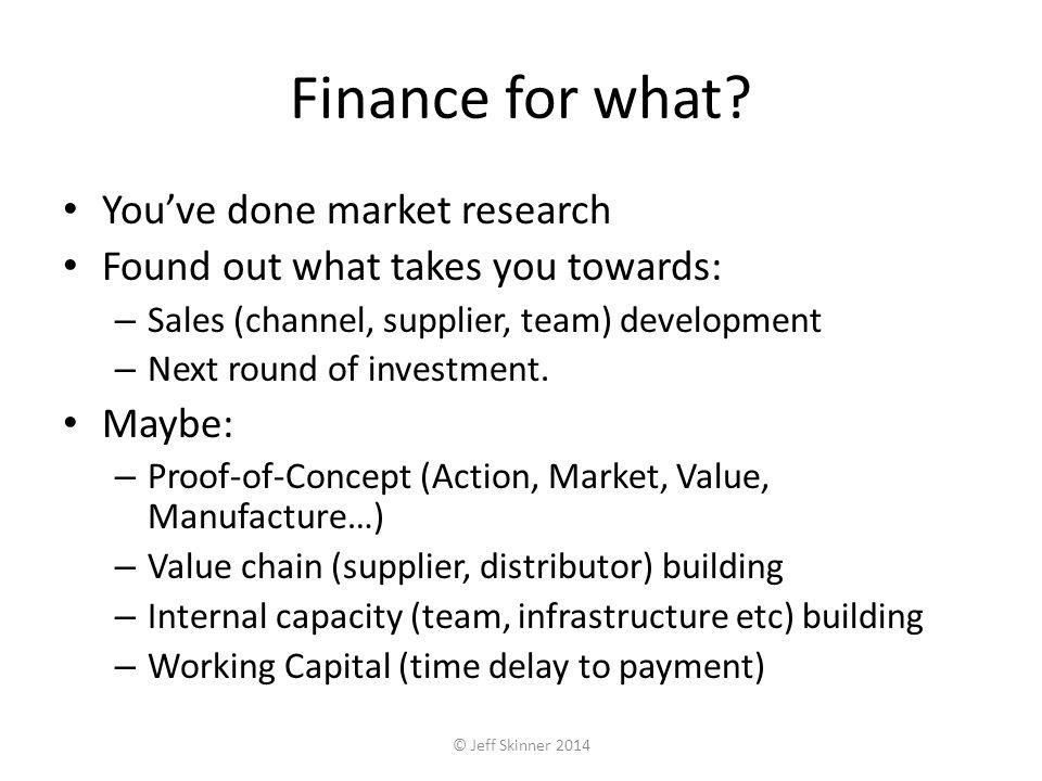 Product-focused development Development spend £££ Risk Value of business