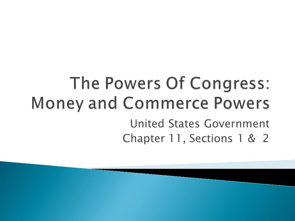 ANYTHING Congress has the power to do comes from Article I of the Constitution.