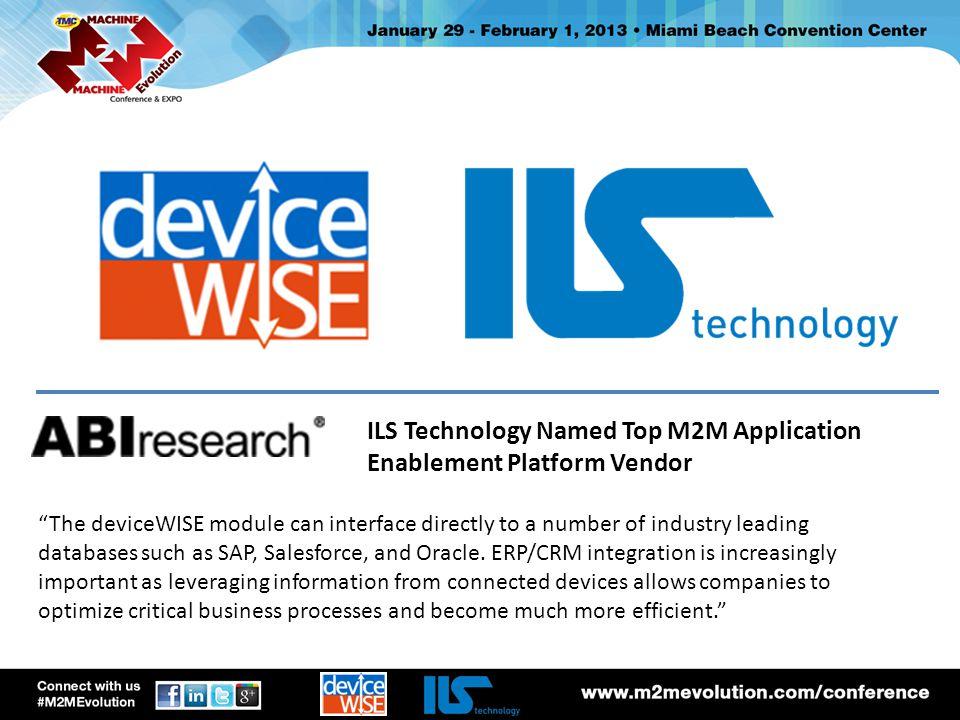 what is deviceWISE? 3 api asset gateway m2m service proxy