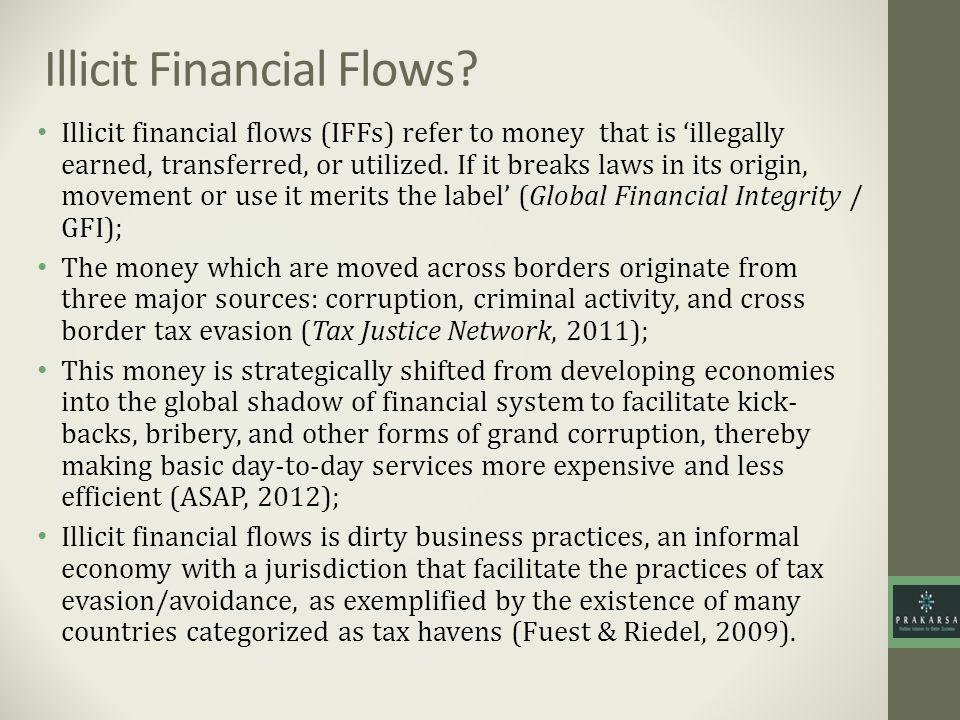 Illicit Financial Flows.