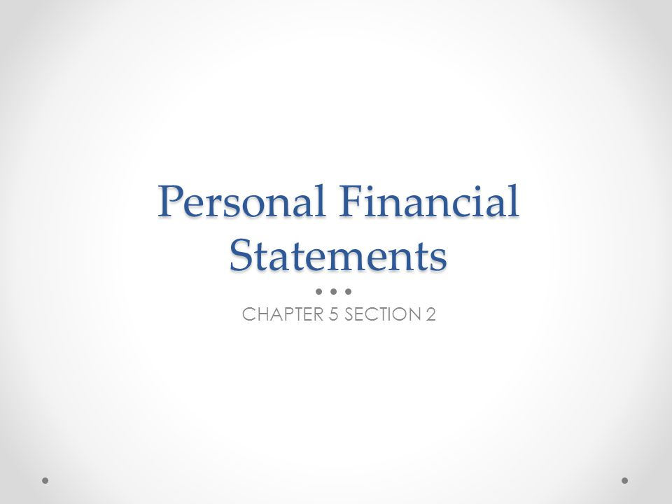 Personal Balance Sheet Allows you to have a complete look at your financial situation.