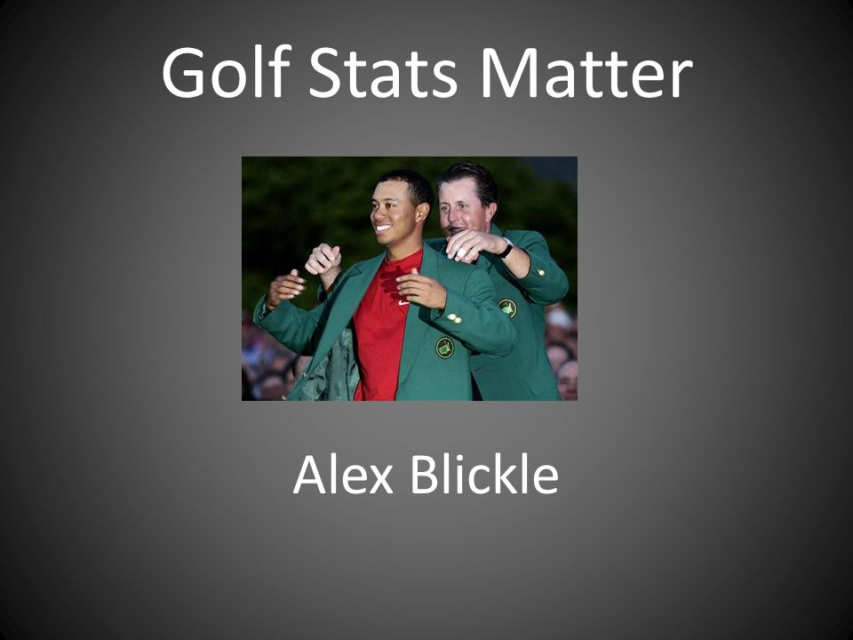 Research Questions 1.Which statistics matter most in predicting money earned on the PGA Tour.