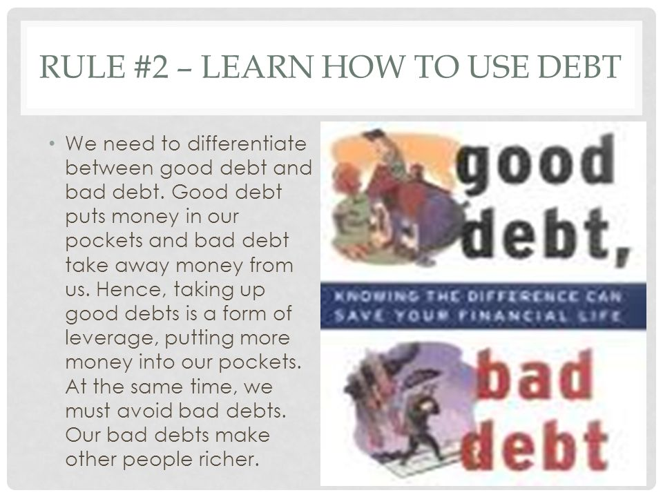 RULE #3 – LEARN HOW TO CONTROL CASH FLOW We must constantly be aware about the worlds cash flow.
