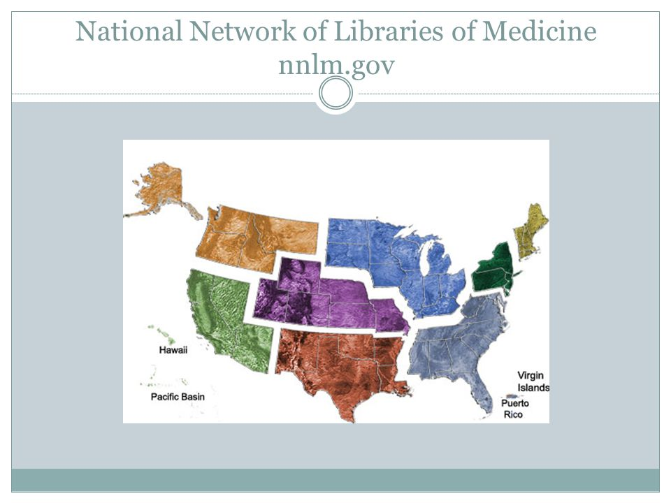 National Network of Libraries of Medicine nnlm.gov