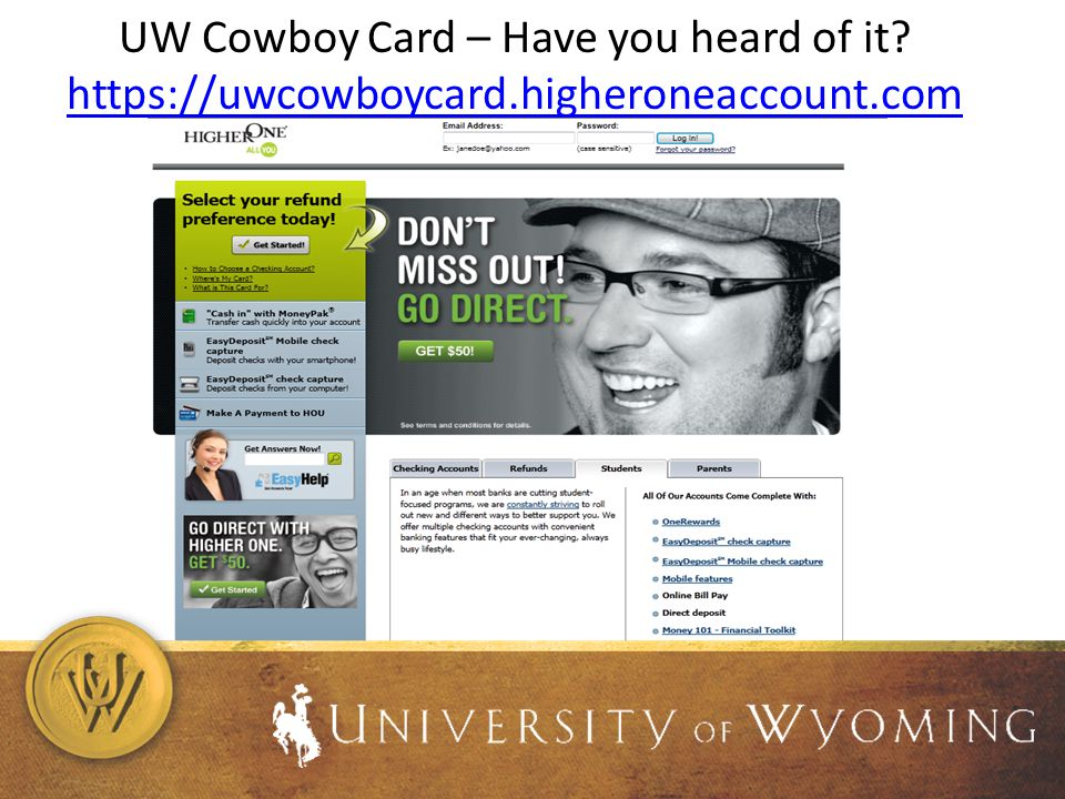 UW Cowboy Card – Have you heard of it.