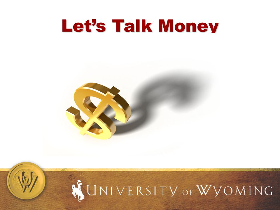 Lets Talk Money