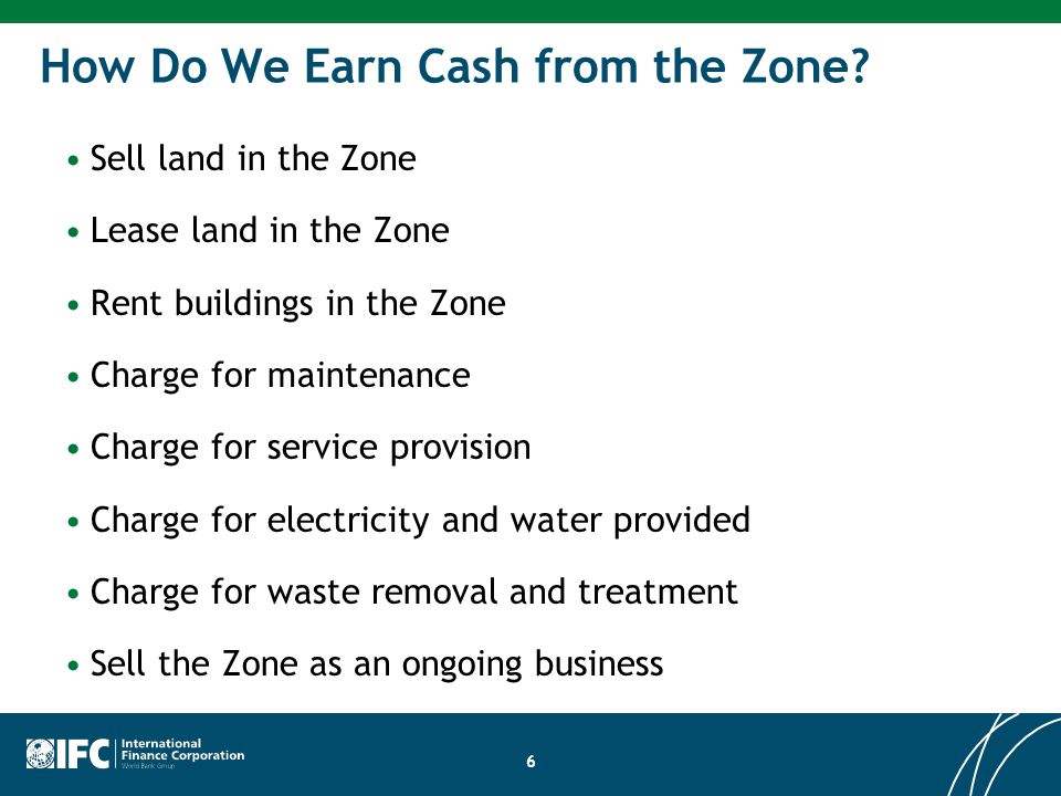 How Do We Earn Cash from the Zone.