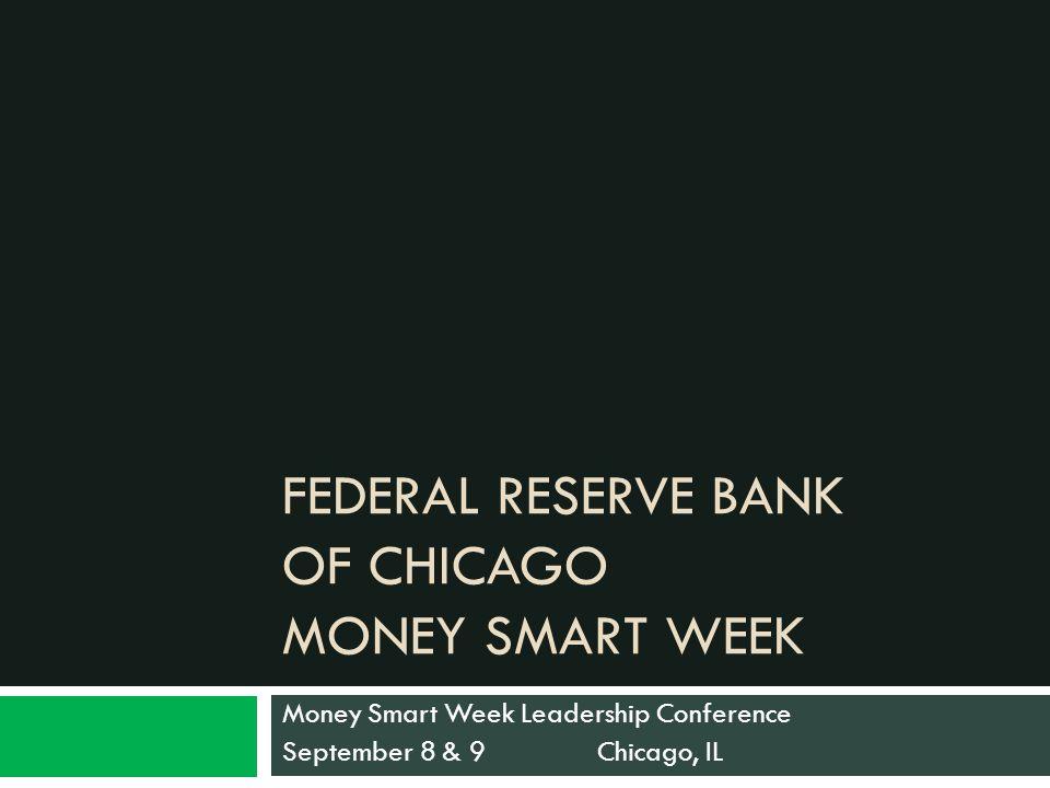 Money Smart Week What is it.