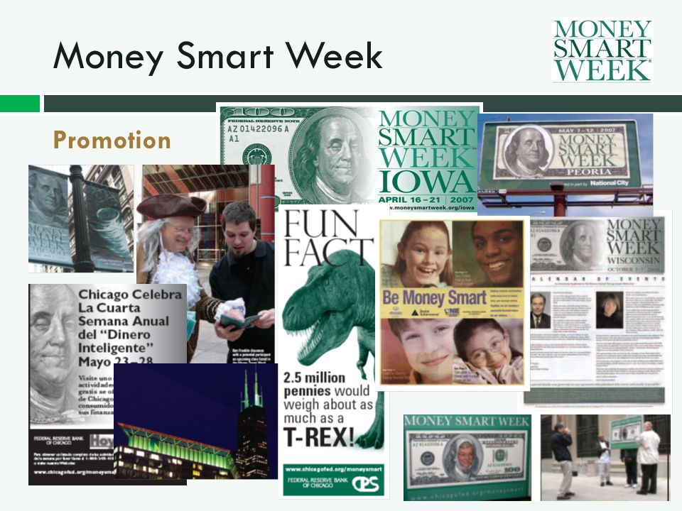 Money Smart Week Promotion
