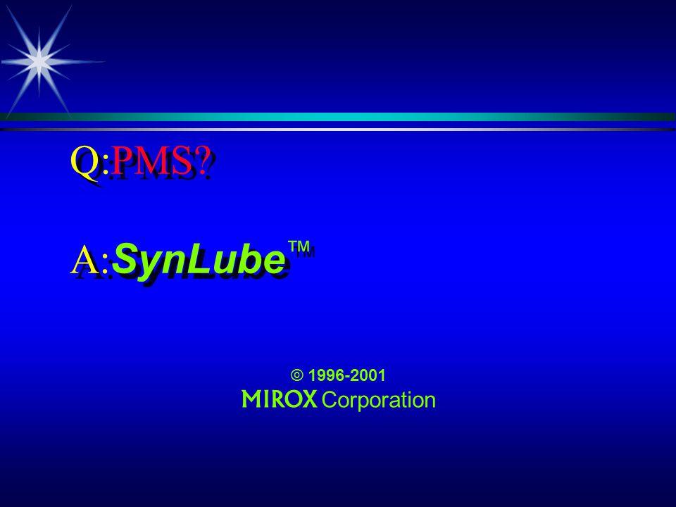 Q:PMS? ä, no, its not what you think! ä PMS, no, its not what you think!