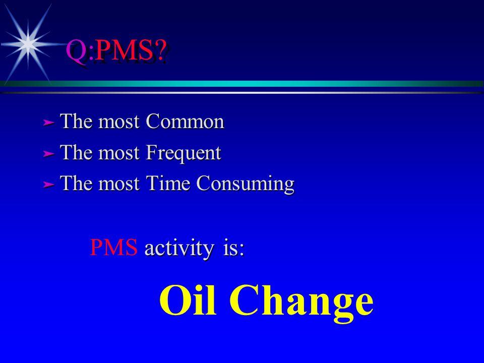 Q:PMS.