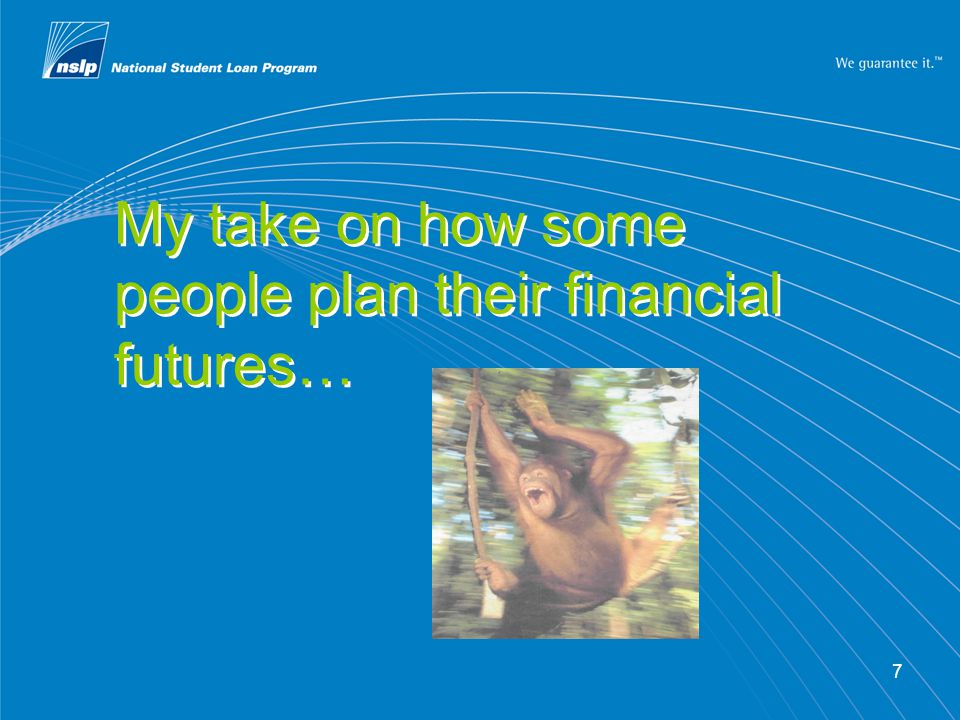 18 Getting in on the act What are you doing now.What are your financial literacy goals.