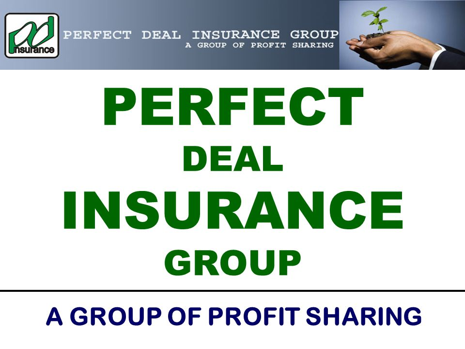 PERFECT DEAL INSURANCE GROUP A GROUP OF PROFIT SHARING