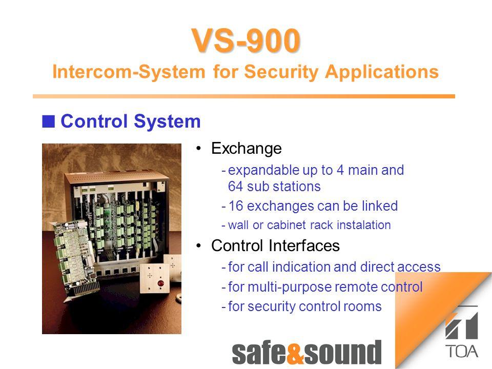 Bild Aufzug Money Automaton: no photo because of security reasons! 12 34 Time-lapse Recorder VS-900 Money Automat VS-900 VS-900 Intercom-System for Se