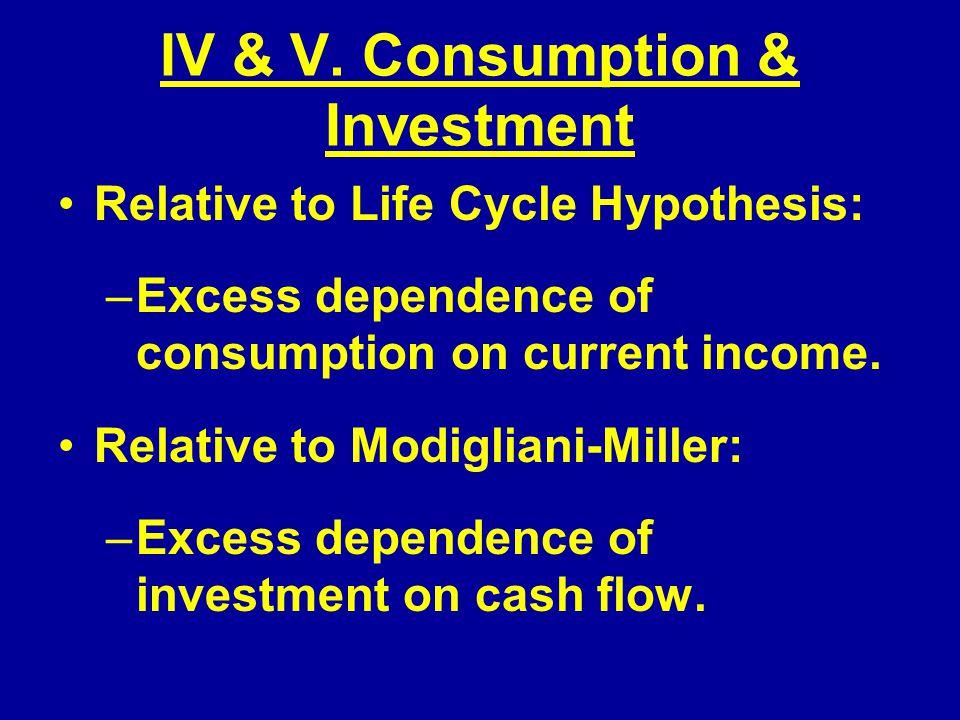 IV & V.