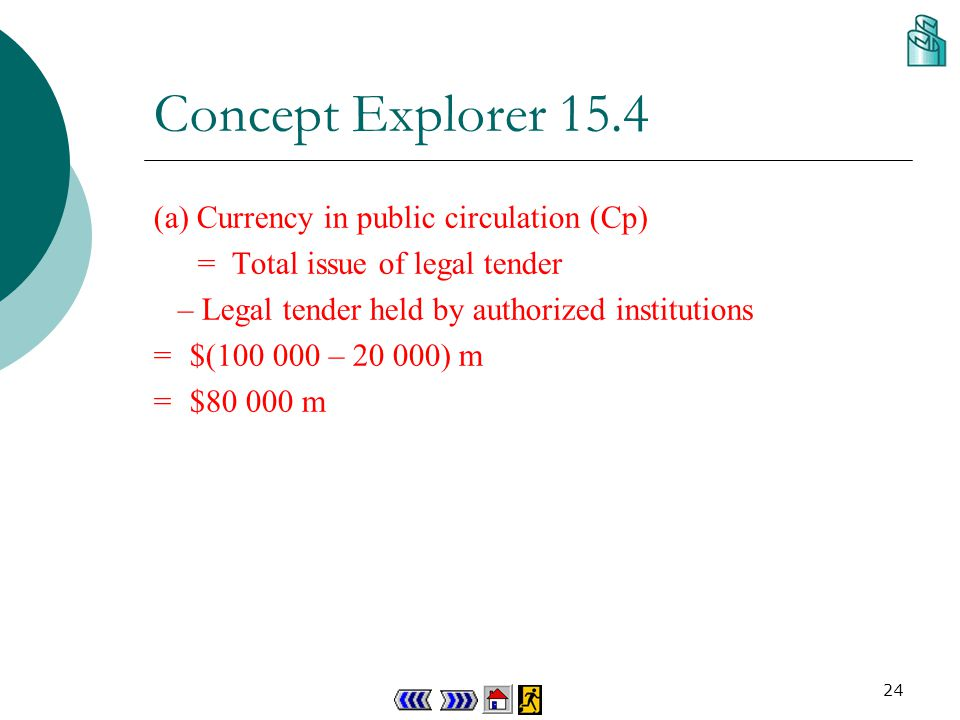 23 Concept Explorer 15.4 M1, M2 & M3 Given the following table.