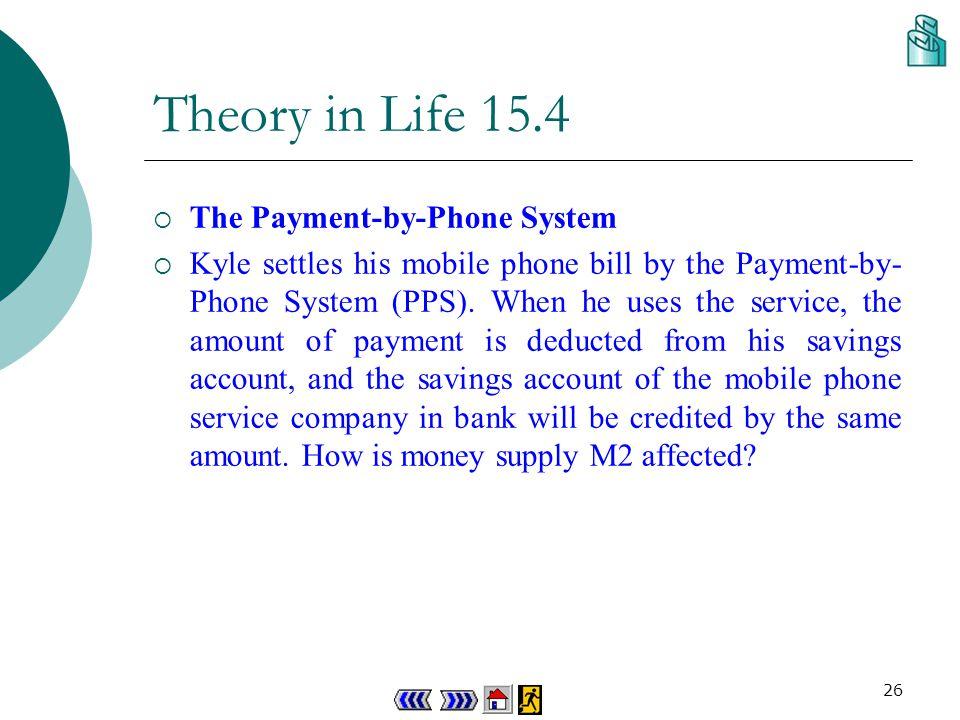25 (b) M1= Cp + Dd = $(80 000 + 150 000)m = $230 000 m (c) M2= M1 + Ds + Dt banks + Cd banks = $(230 000 + 130 000 + 400 000 + 350 000)m = $1 110 000 m (d) M3= M2 + D RLB + D DTC + CD RLB + CD DTC = $(1 110 000 + 200 000 + 150 000)m = $1 460 000m Concept Explorer 15.4