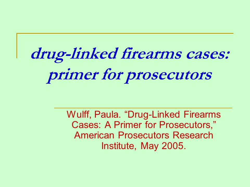 voir dire for drug-related gun charges determine jurors knowledge of guns 1.
