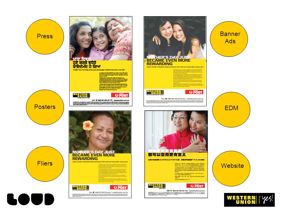 PressPostersFliers Banner Ads EDM Website