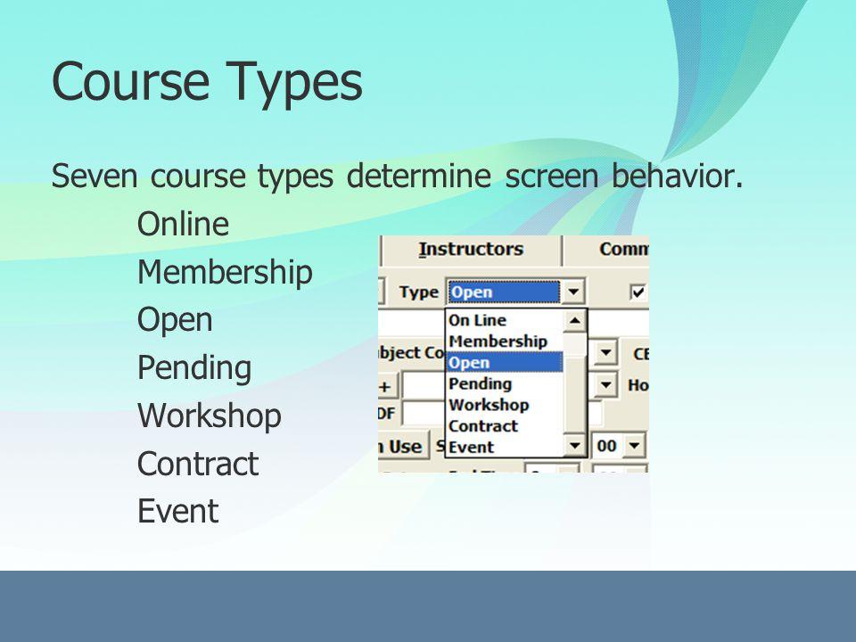 Instructor Screen