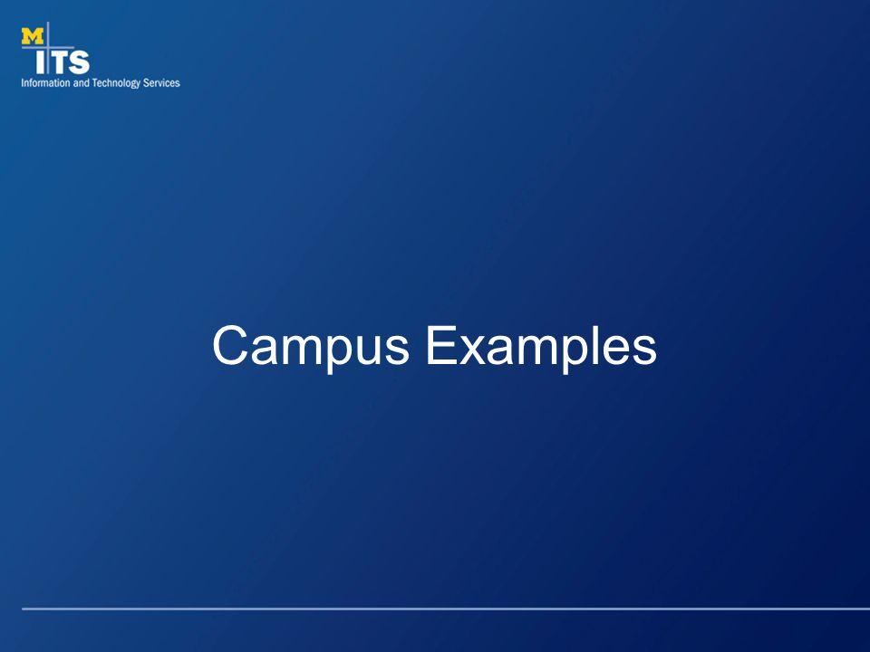 Campus Examples