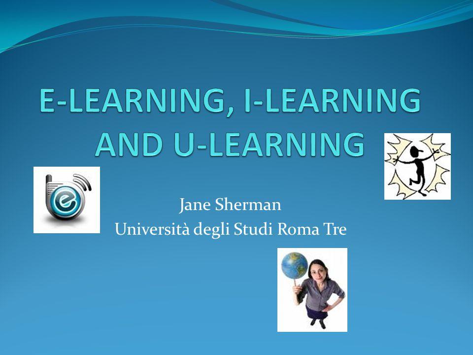 Jane Sherman Università degli Studi Roma Tre