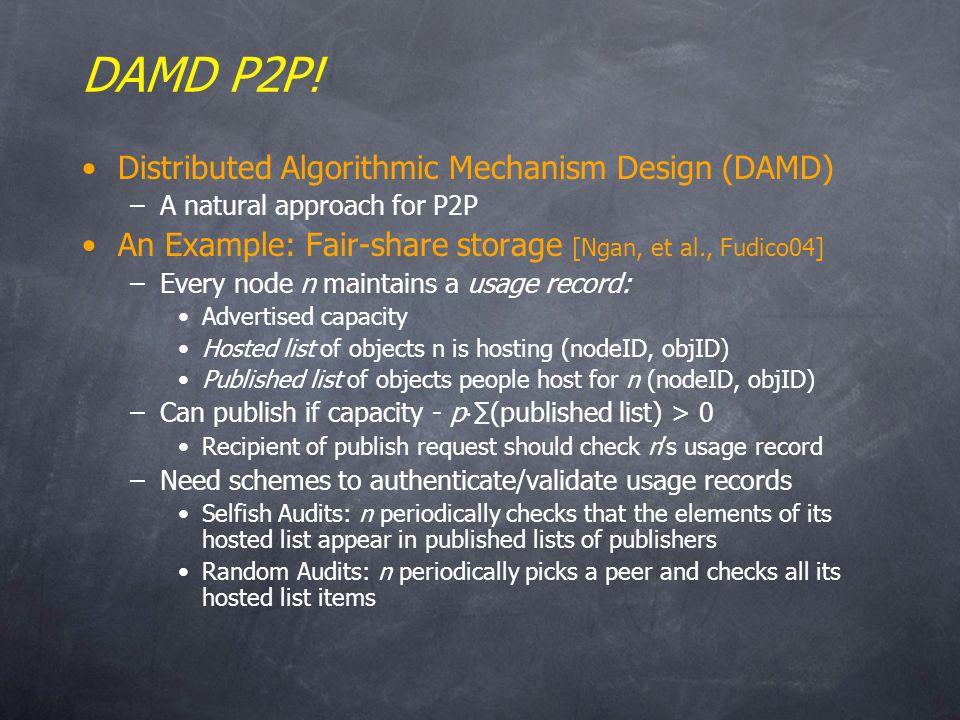 DAMD P2P.
