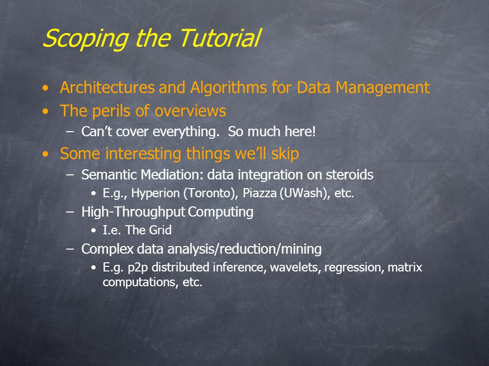 Metrics for Aggregation Trees What makes a good/bad agg tree.