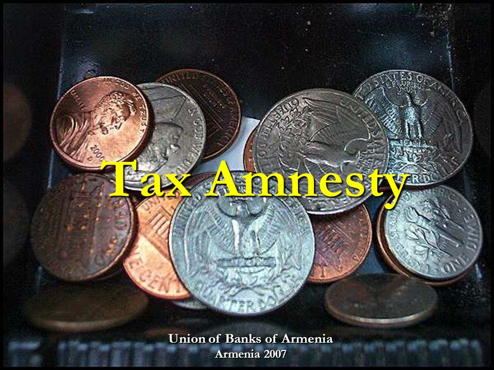 In different time periods different tax amnestied had been conducted around the world In different time periods different tax amnestied had been conducted around the world Europe ( Belgium, France, Ireland, Italy, Switzerland ) Latin America ( Argentina, Bolivia, Brazil, Chile, Columbia ) Asia (India, Malaysia, Pakistan, Sri Lanka) Pacific (Australia, Indonesia, New Zealand, The Philippines) and sometimes more than once and sometimes more than once From November 29, 1982 till the present day, a considerable number of more than 60 amnesty programs have been conducted in US states From November 29, 1982 till the present day, a considerable number of more than 60 amnesty programs have been conducted in US states