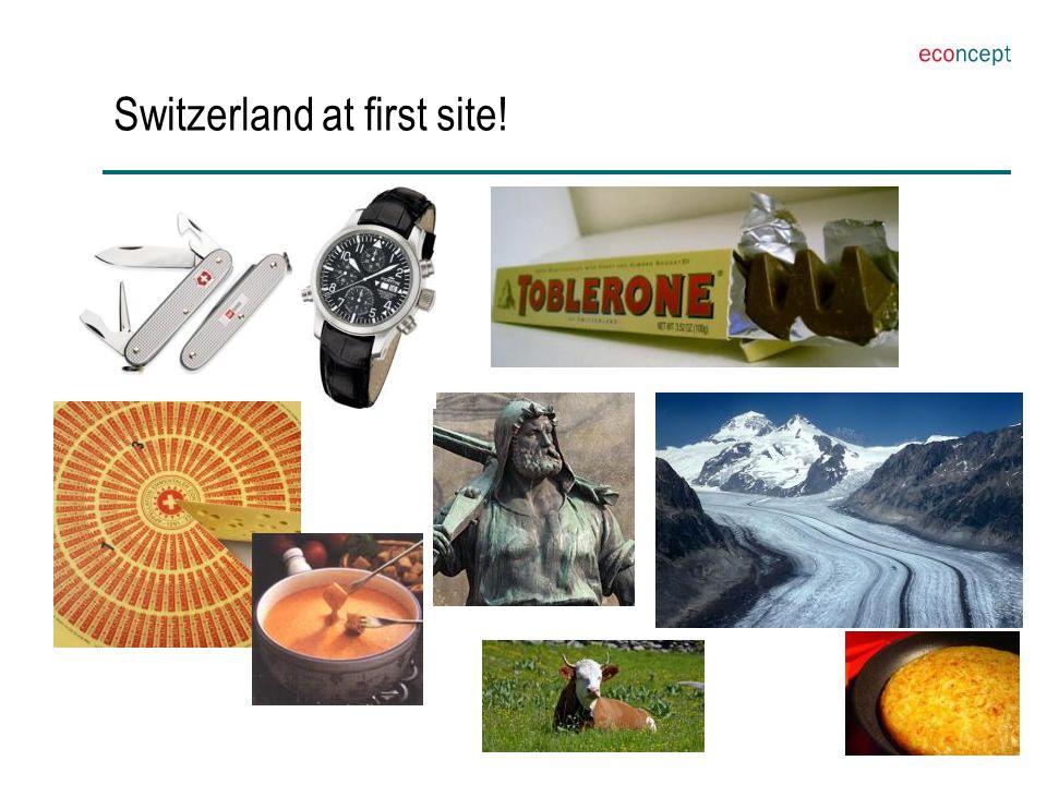Switzerland at first site!