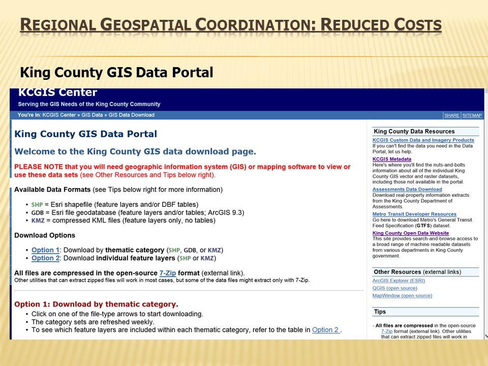 King County GIS Data Portal