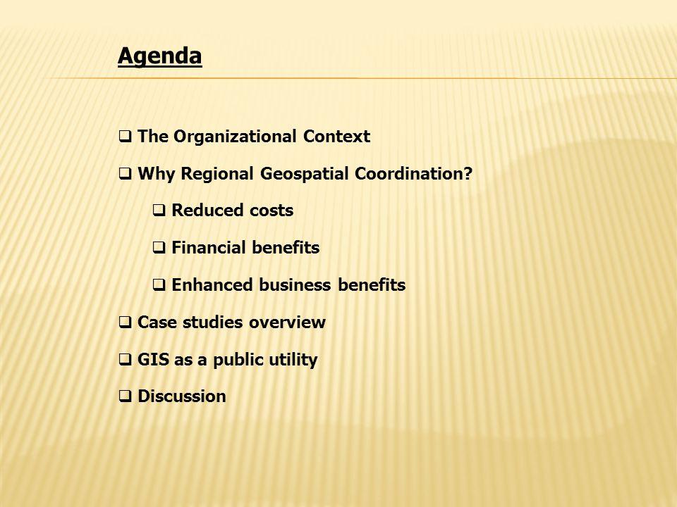 KCGIS GIS ROI Study Consultant Team from UW Evans School of Public Affairs: Prof.