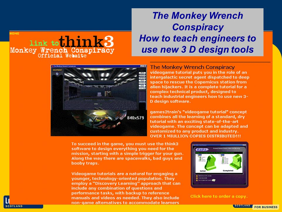 The Monkey Wrench Conspiracy How to teach engineers to use new 3 D design tools