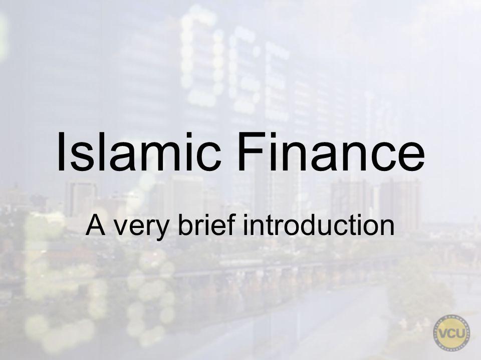 History of Islamic finance Not New – 1500 years of development.
