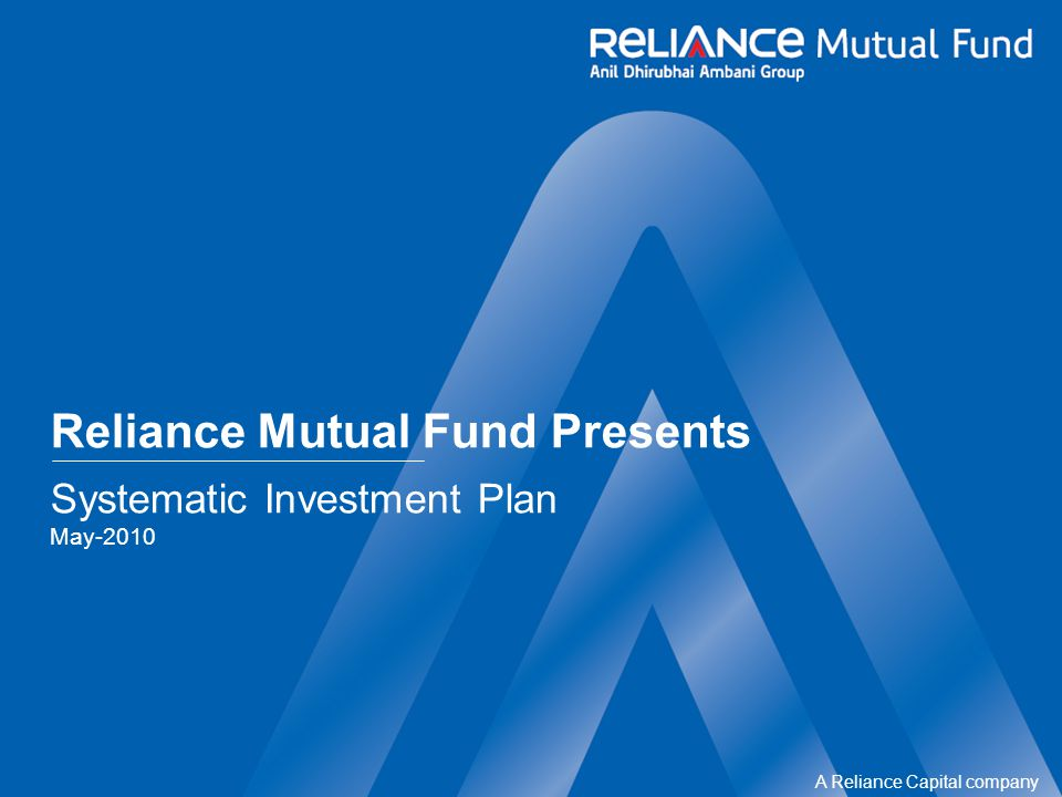A Reliance Capital company x Meant for Corporates and HNWs/HNIs x Short term in nature x Investment in Equity x Risky in nature x Too Complicated x Dont know how to invest into one x Markets are not right to start Mutual Fund perceived as Our Perceptions … Is not a function of income Is not a function of investment expertise Is really a matter of Regular Savings Whereas creating wealth through Mutual Fund..