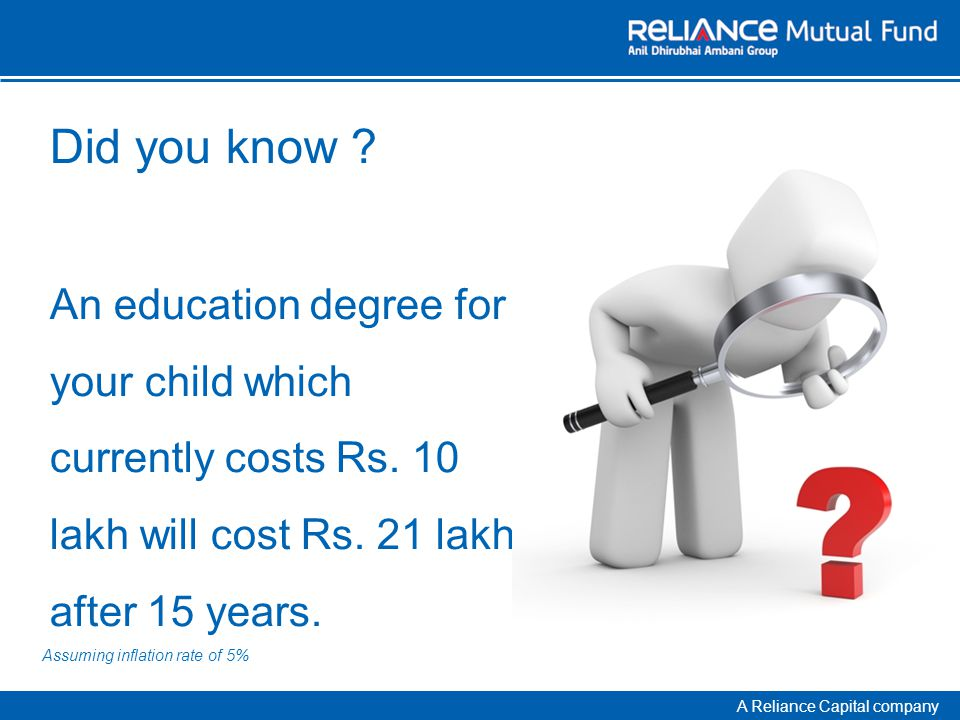 A Reliance Capital company Did you know .