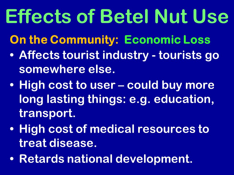 Affects tourist industry - tourists go somewhere else. High cost to user – could buy more long lasting things: e.g. education, transport. High cost of