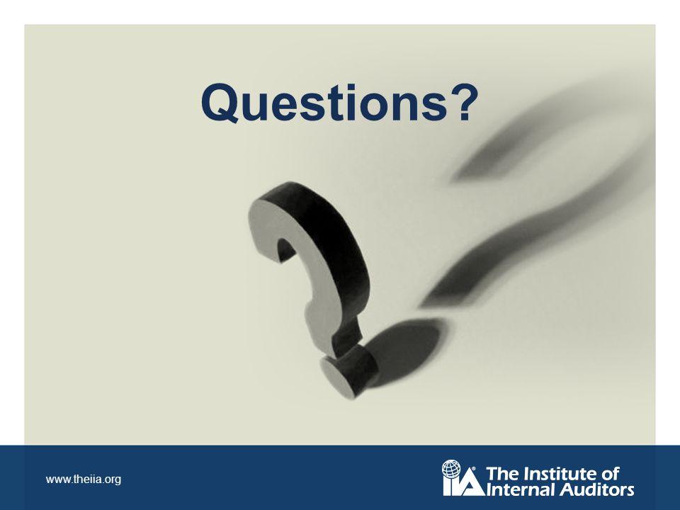 www.theiia.org Questions