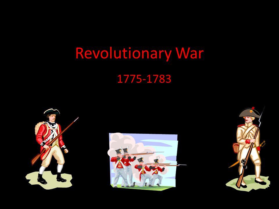 Revolutionary War 1775-1783