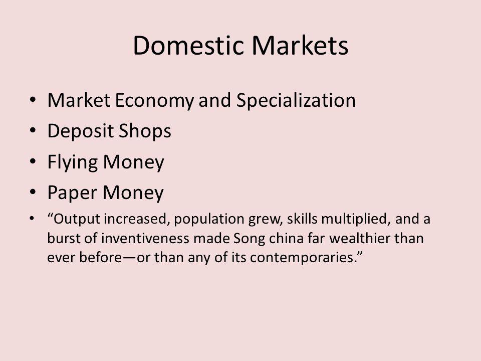 Urbanization Market Econ Flourishing of Cities