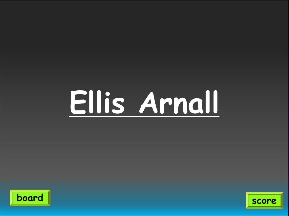 Ellis Arnall score board